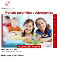 FRANCÉS PARA NIÑOS Y ADOLECENTES